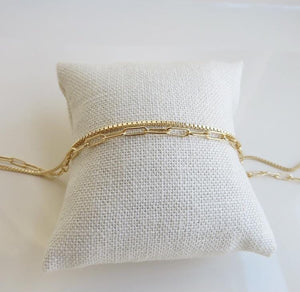 Boxed Diore Style Bracelets - Gold Filled