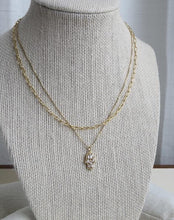 Load image into Gallery viewer, Boxed Diore Hamsa Necklace - Gold Filled