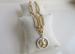 Theo Coin Necklaces