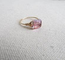 Load image into Gallery viewer, Rose Crystal Ring