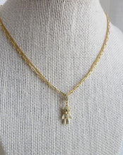 Load image into Gallery viewer, Petite Diamond Charm Enhancer Pendant