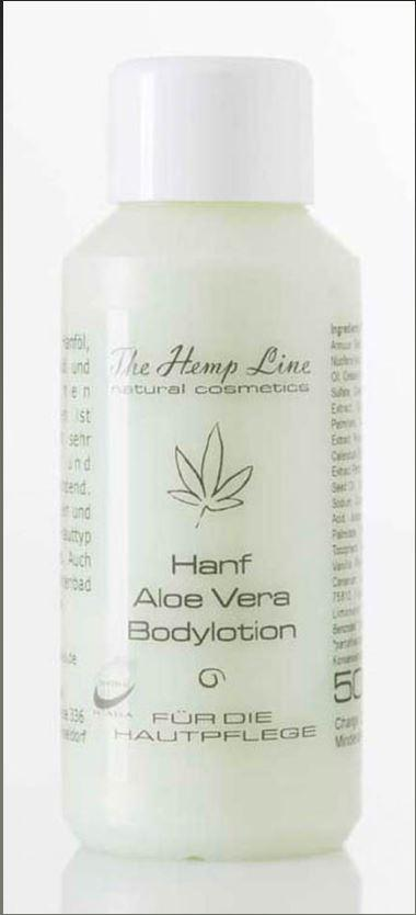 Mini Hanf Aloe Vera Bodylotion 50 ml
