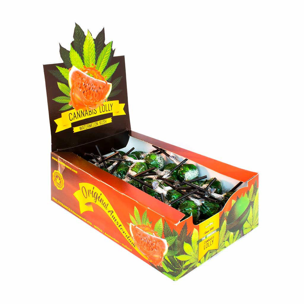 Cannabis Watermelon Kush Lollies