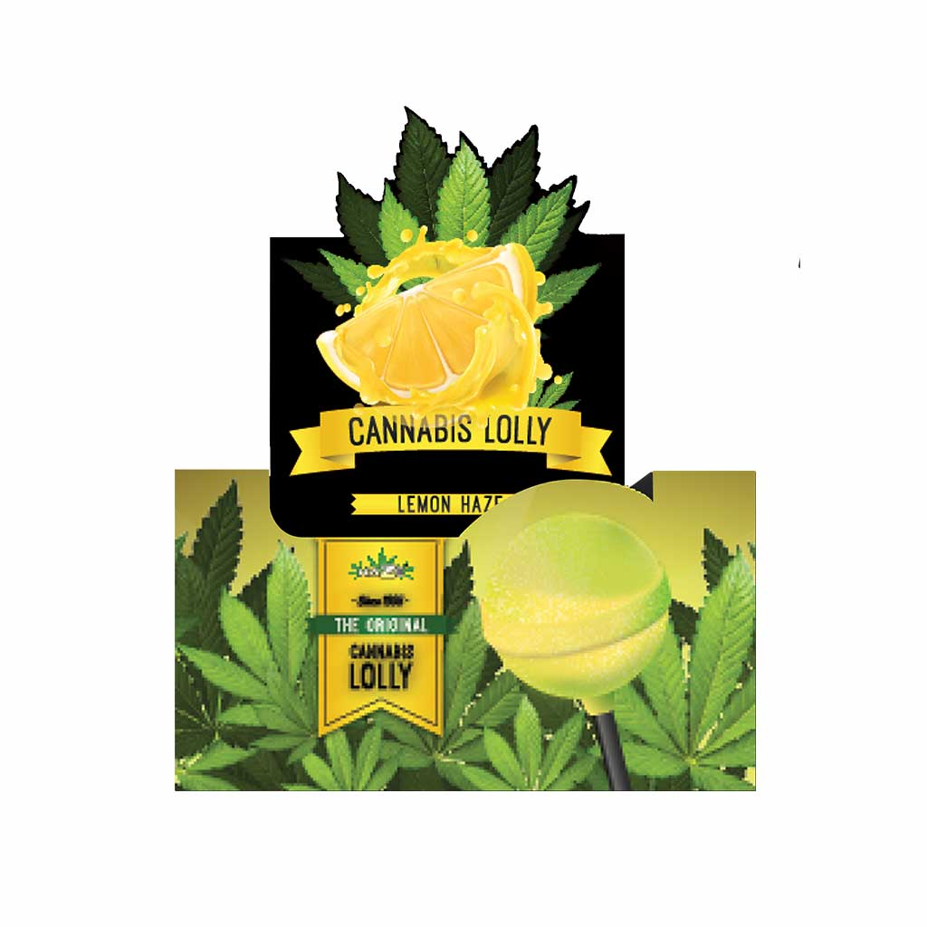 Cannabis Lemon Haze Lollies