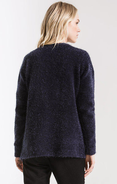 SENECA CARDIGAN, NIGHT SKY