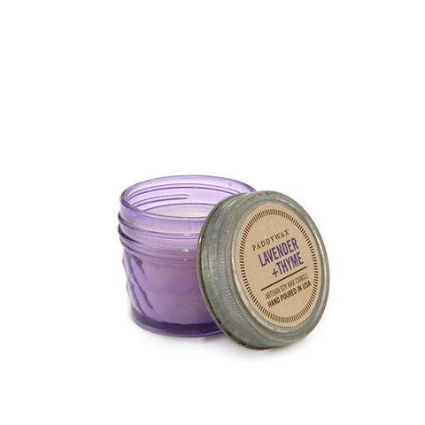 PADDYWAX RELISH JAR CANDLE (3 OZ.), LAVENDER + THYME