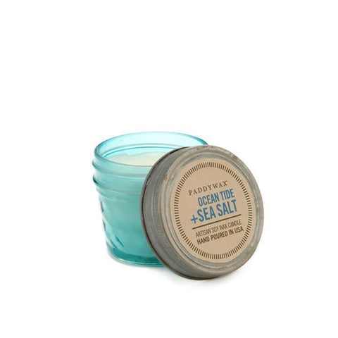 PADDYWAX RELISH JAR CANDLE (3 OZ.), OCEAN TIDE + SEA SALT