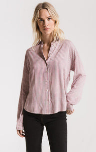MONTROSE BUTTON DOWN SHIRT, WILD GINGER