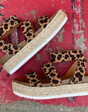 SPRING WEDGE, LEOPARD