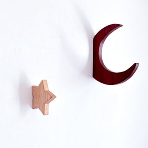 Star and moon hooks