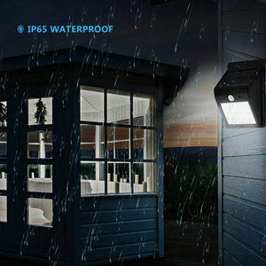 Solar Waterproof Wall Light - LIMITED OFFER (2 Pack)