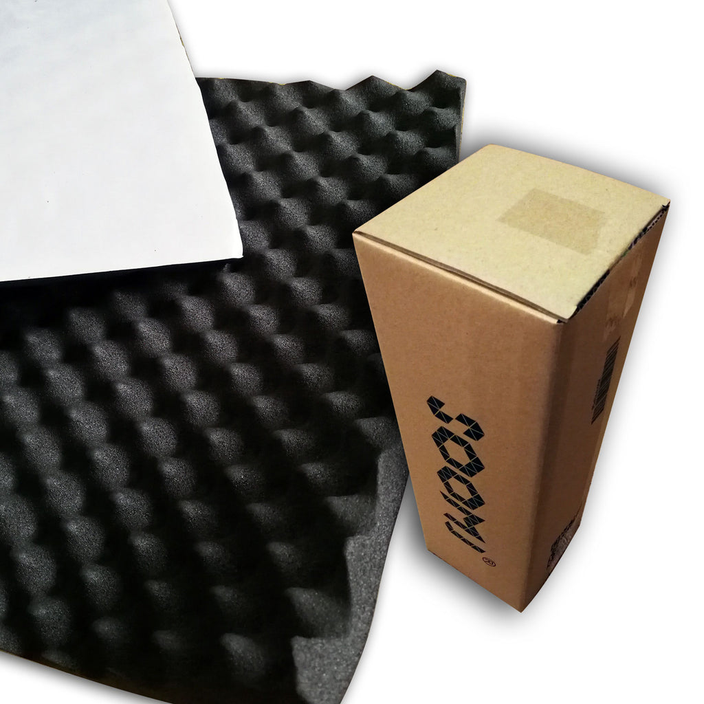 SOOMJ Sound Proof Padding Soundproofing Foam Acoustic Eggcrate Design Car Heatproof Foam Deadener