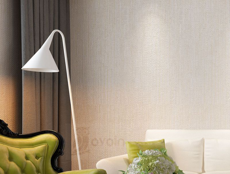 Silver Metallic Vinyl Grasscloth Wallpaper Roll Bedroom Textures PVC Wall Paper Dining Room Hotel Striped Wallpapers