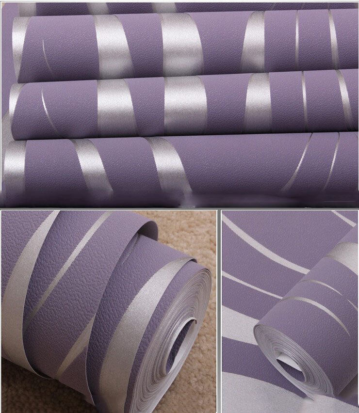 Modern 3D Abstract Geometric Wallpaper Roll For Room Bedroom Living room Home Decor Embossed Wall Paper,Grey,Beige,White,Purple