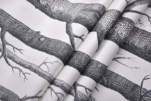 Black White Birch Tree Wallpaper for Bedroom Modern Design Living Room Wall Paper Roll Rustic Forest Woods Wallpapers Pearly