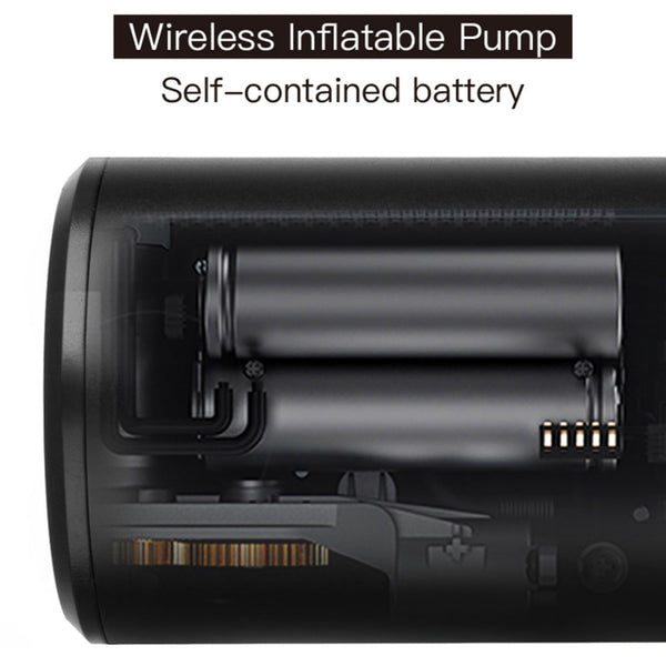 Portable wireless air pump