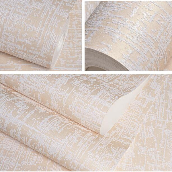White,Yellow,Beige,Pink Deep Embossed Solid Texture Wallpaper For Bedroom Living Room Modern Simple Carved Wall Paper Home Decor