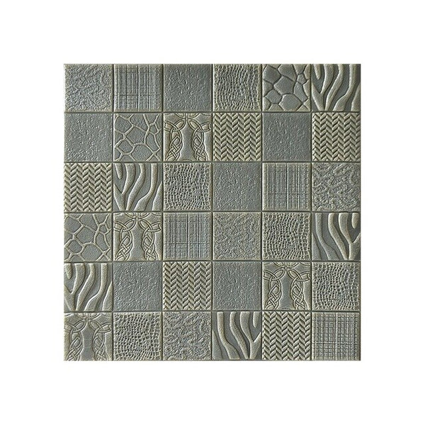 3D Brick Pattern Wall Panels Stickers PE Foam Self-Adhesive Wallpaper DIY Waterproof Modern Style for Living Room