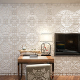 Free DIY 3D Brick Wall Sticker Self-Adhesive PE Foam Wallpaper Panels Room Decal background Noise reduction