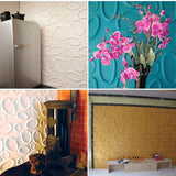 3D Ring PE Foam Wall Stickers Self-adhesive TV background Wallpaper bedroom kids room Circle Wall Panel Home Decoration Material