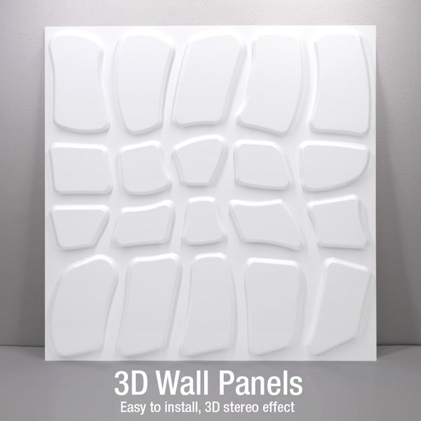 4 pcs 50x50cm 3D Wall Stickers Imitation Brick Bedroom Decor  3D Waterproof  Wallpaper For Living Room Kitchen TV Backdrop Decor
