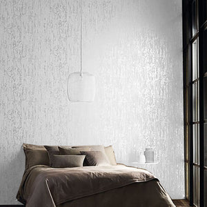 White,Brown Abstract Metallic Embossed Plain 3D Textured Wallpaper Luxury Thick Wall Paper For Bedroom Living Room Home Decor