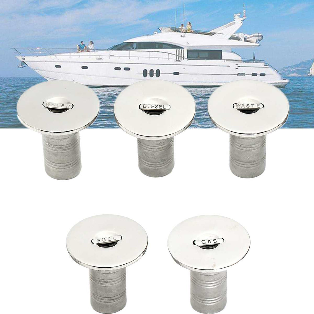 2inch 316 Stainless Steel Fuel Marine Boat Deck Fill/Filler Keyless Cap Boat Parts&Accessories Resist Corrosion Durable Hardware