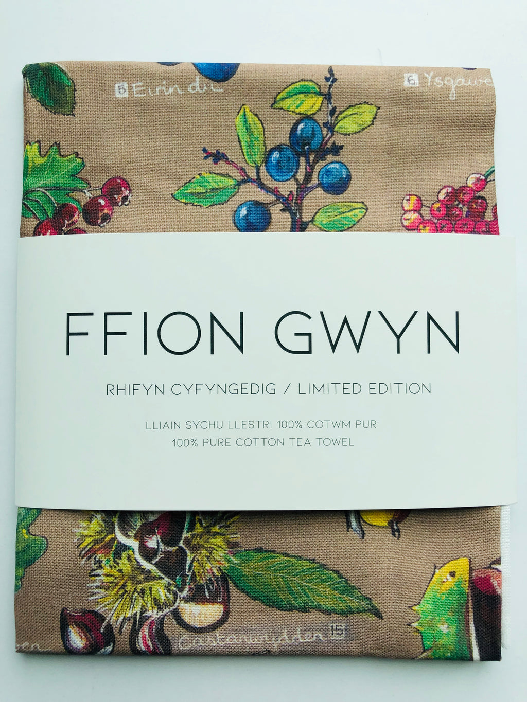 Ffion Gwyn - Heritage Tea Towel Collection - Autumn / Hydref