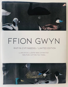 Ffion Gwyn - Heritage Tea Towel Collection - Welsh Ducks/Hwyaid Cymru
