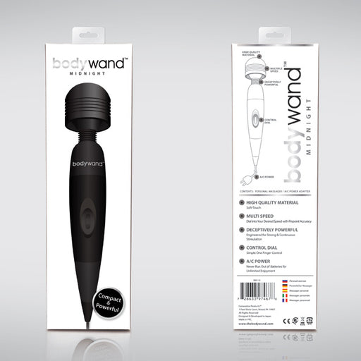 Bodywand Midnight Plug-In Wand Massager