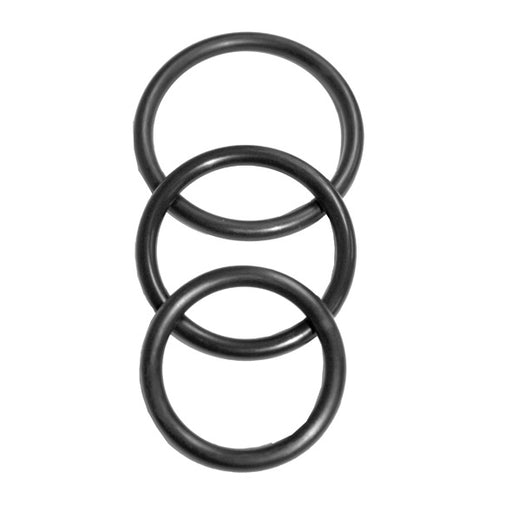 S&M Nitrile Cock Ring 3 Pack