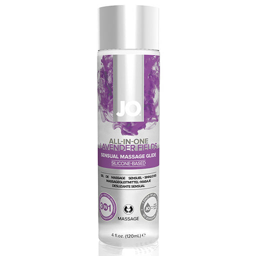 System JO All-in-One Sensual Massage Glide Lavendel 120 ml