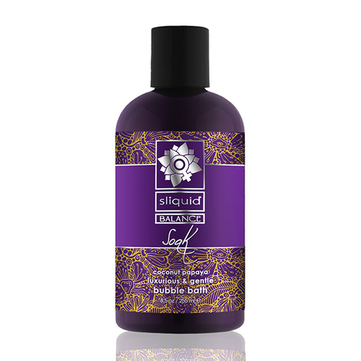 Sliquid Balance Soak Kokosnoot Papaya 255 ml
