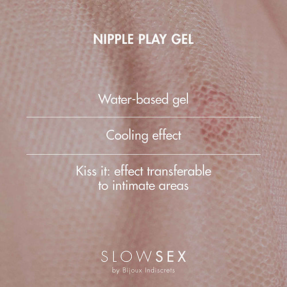 Bijoux Indiscrets Slow Sex Tepel Play Gel