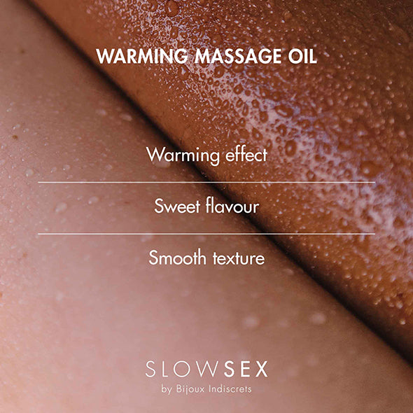 Bijoux Indiscrets Slow Sex Verwarmende Massage Olie