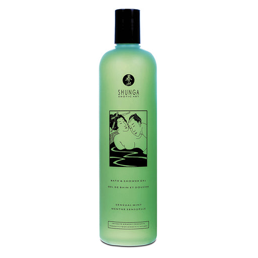 Shunga Shower Gel Sensuele Mint 500 ml