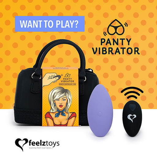 Feelztoys Panty Vibe Remote Controlled Vibrator