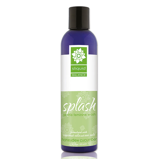 Sliquid Balance Splash Nectar Komkommer 255 ml