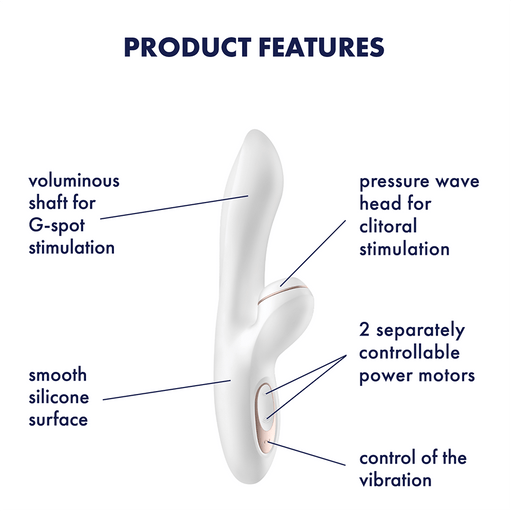 Satisfyer Pro G-Spot Rabbit Vibrator