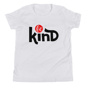 Be Kind Youth Short Sleeve T-Shirt, Be Strong, Anti Bullying, Be Your Own Hero