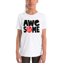 Load image into Gallery viewer, Be Awesome Youth Short Sleeve T-Shirt
