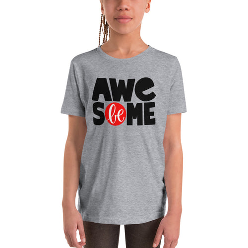 Be Awesome Youth Short Sleeve T-Shirt