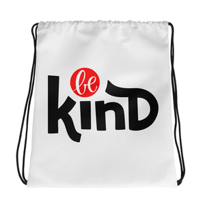 Be Kind Drawstring bag, Anti Bullying, Motivational
