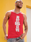 JUST BELI3VE Tank Top