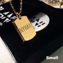 Load image into Gallery viewer, Dog Tag Necklace