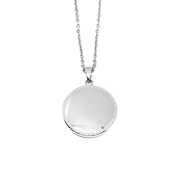 DISC NECKLACE - LARGE
