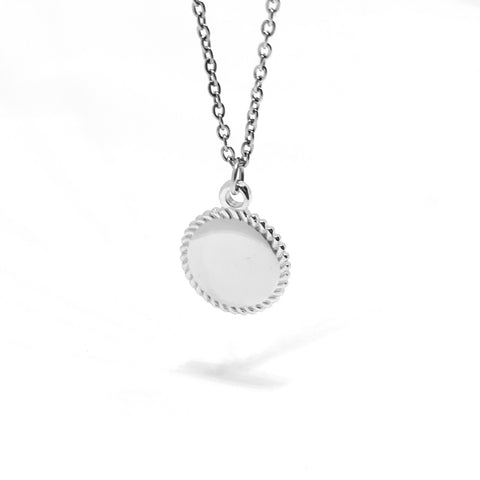 DISC NECKLACE - SMALL