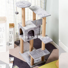 Load image into Gallery viewer, [Cuddly Paws] Deluxe 130cm Cat Scratch Tower