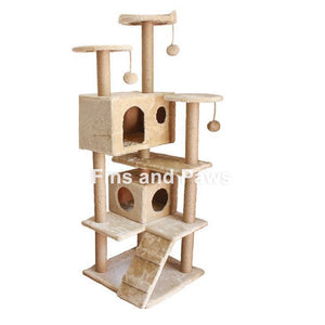 [Cuddly Paws] Deluxe Tall 150cm Cat Scratch Tower