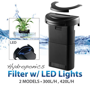 [Aquasyncro] CX Hydroponics Filter with LED